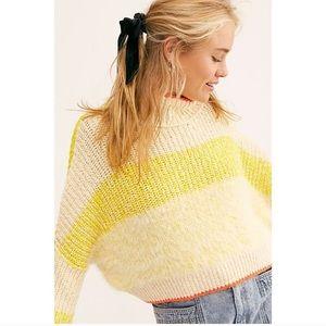 NWT Free People sunbrite combo sweater